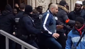Video from Paris: Muslim migrants storm church, force cancellation of evening Mass