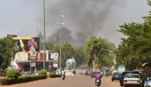 "Burkina Faso: Muslims screaming ""Allahu akbar"" open fire on French Embassy"