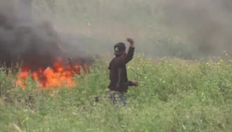 """Palestinian"" protesters throw stones and Molotov cocktails at IDF, media blames Israelis when they respond"