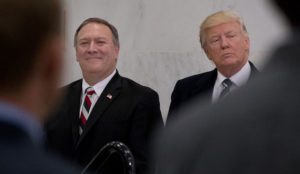 National security experts and public policy practitioners support Pompeo for Secretary of State