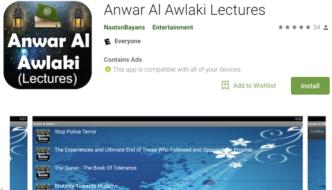 Awlaki's al-Qaeda recruitment lectures offered in Google Play store app