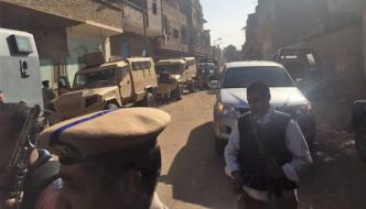 "Egypt: Muslims screaming ""Allahu akbar"" smash church's doors and windows, pelt Christian homes with stones"