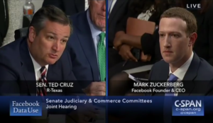Video: Mark Zuckerberg rattled as Ted Cruz grills him over Facebooks censorship of conservatives