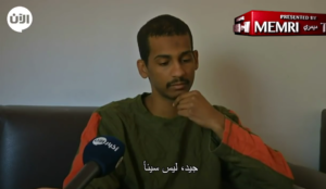 "Video: Islamic State ""Beatle"" says ""I don't listen to music…I don't denounce slavery"""