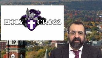 Robert Spencer video: Holy Cross teaches Christian students to be ashamed of defending Christianity