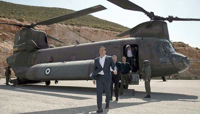 Turkish fighter jets repeatedly harass helicopter carrying Greek Prime Minister and Armed Forces Chief