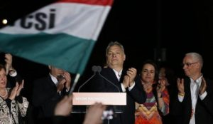 "Hungary: Viktor Orban wins sweeping majority, vows ""a big fight ahead"" to protect Hungary"