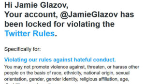 Jamie Glazov: Twitter Suspends Me for Quoting Qur'an and Hadith