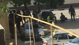 Russia: Muslims with guns and petrol bombs storm church, murder two police officers and a churchgoer