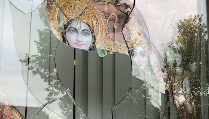 "Ramadan in the Netherlands: Muslims  break windows of Hindu temple, a ""frequent target during Ramadan"""
