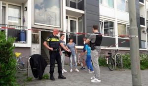 Netherlands: Axe-waving Muslim migrant attacks police officers