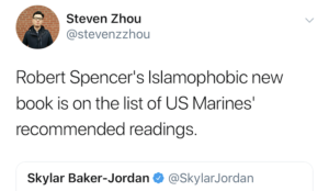 "WaPo and BuzzFeed ""reporters"" parrot CAIR talking points, try to get Robert Spencer book banned"