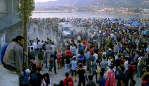 """Greece """"overwhelmed"""" as Muslim migrants surge across Turkish border, situation """"on verge of spinning out of control"""""""