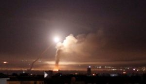 Iran's Islamic Revolutionary Guards fires rockets into Golan Heights, Israel hits Iranian military in Syria