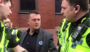 Facebook bans Tommy Robinson, falsely claiming he calls for violence against Muslims