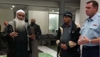 """New Zealand: Police department welcomes imam who called Jews """"the enemy"""" for Ramadan event"""