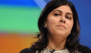 "UK: Muslim Baroness Warsi accuses Conservative Party of using ""dangerous"" hatred of Muslims to win elections"