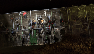 Spain: Hundreds of Muslim migrants storm border fence from Africa into Ceuta