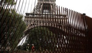 France spends $40,000,000 on new fences around the Eiffel Tower