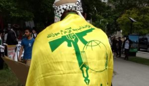 Toronto: Al-Quds Day rally features flag of jihad terror group Hizballah