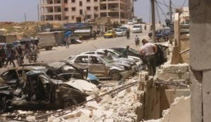 Ramadan in Syria: Muslims murder at least seven civilians with bombs in market area and residential area