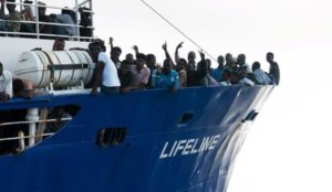 """""""They will only see Italy on a postcard"""": Italy turns away another migrant ship"""