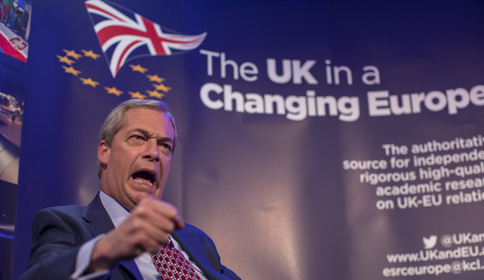 """Nigel Farage quits UKIP because its leader """"seems obsessed with Islam, not just Islamic extremism, but Islam"""""""
