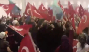 "Video from the Netherlands: Muslims scream ""Allahu akbar"" to celebrate Erdogan's victory"