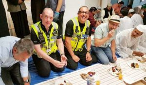 "UK: Police took part in Ramadan fast to ""show unity"" and ""gain better understanding"" of Muslims"