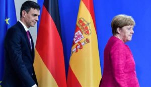 Spanish PM meets with flip-flopping Merkel to find EU-wide solution for migrant crisis