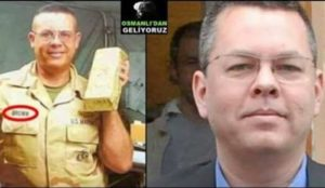 Turkish: Deputy from ruling party accuses imprisoned American pastor of looting Iraq's gold