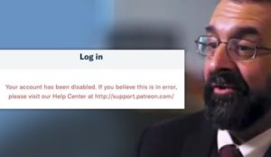 Patreon and Mastercard ban Robert Spencer without explanation