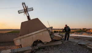 Only 900 Christians left in Syrian region where 10,000 lived before the Islamic State came in