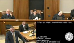 Video: Key free speech case argued, American Freedom Defense Initiative vs. Seattle King County