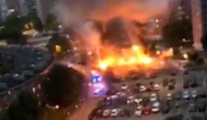 "Sweden: Masked ""youths"" rampage in no-go zones, torch 100 cars, ""extremely organized,"" ""like a military operation"""
