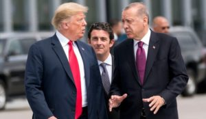 """Trump: """"Turkey has been a problem for a long time. They have not acted as a friend."""""""