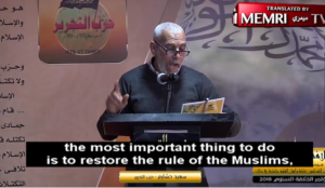 """Muslim leader: Establishing an Islamic state """"requires the conquest of America, Britain, Russia, France, and Italy"""""""