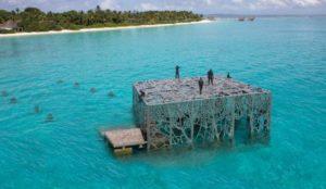 Maldives: Marine artwork destroyed after Islamic scholars judge it anti-Islamic