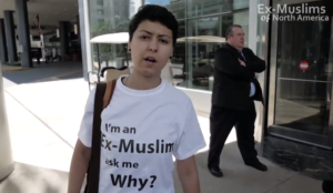 "Houston: Ex-Muslims banned from Hilton across from ISNA convention for ""I'm an Ex-Muslim"" t-shirts"