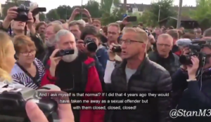 Video: Germans complain to politician about dangers from Muslim migrants, she calls them Nazis