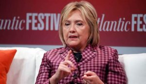 Hillary Clinton likens totally unproven Russian election interference to 9/11