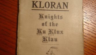 Islam and the Rebirth of the Ku Klux Klan
