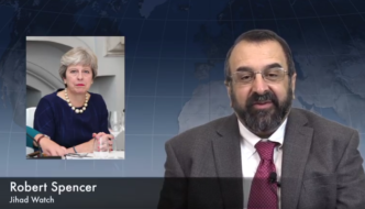 Video: UK's Prime Minister Theresa May Equates Robert Spencer with Jihad Terrorists