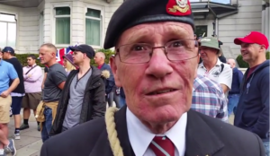 Video: UK veteran comments on soldier being dismissed for photo with Tommy Robinson
