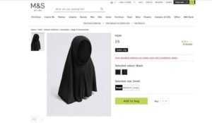 UK: Marks & Spencer sells hijabs for girls as young as four years old