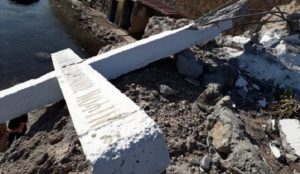 Greece: Cross destroyed after Leftist group complained that it offended Muslim migrants