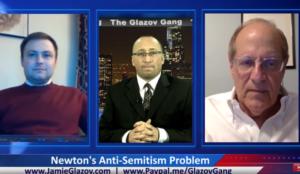 Glazov Gang: Newton's Anti-Semitism Problem