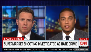"""CNN's Don Lemon doubles down on false claim that white men are """"biggest terror threat in this country"""""""