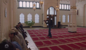 NBC TV fantasy just before Veteran's Day: American veteran sets off bombs and takes hostages at mosque
