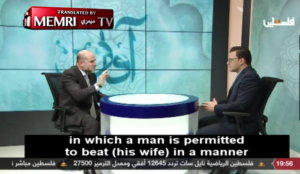 """Advisor to Abbas says a husband may beat his wife """"only when his wife is being disobedient"""""""
